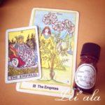 タロット「女帝」の香り【タロットとアロマなつぶやき・私と香りの世界観】
